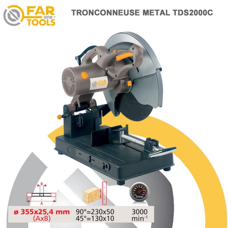 Tronçonneuse à métaux Fartools 2480 W  FARTOOLS  rfi outillage