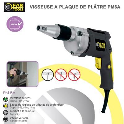Visseuse à Placoplatre PM6A