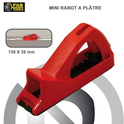 Mini rabot pour plaque de plâtre