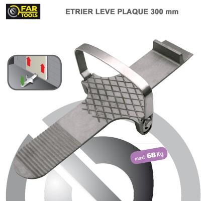 Etrier lève-plaque pour plaque de plâtre