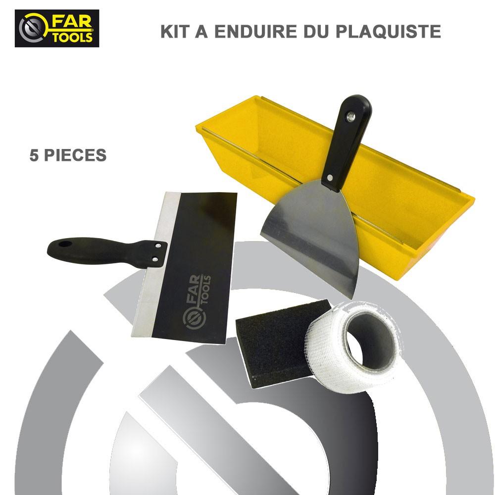 kit enduire du plaquiste fartools fartools 212025 vente de outi. Black Bedroom Furniture Sets. Home Design Ideas