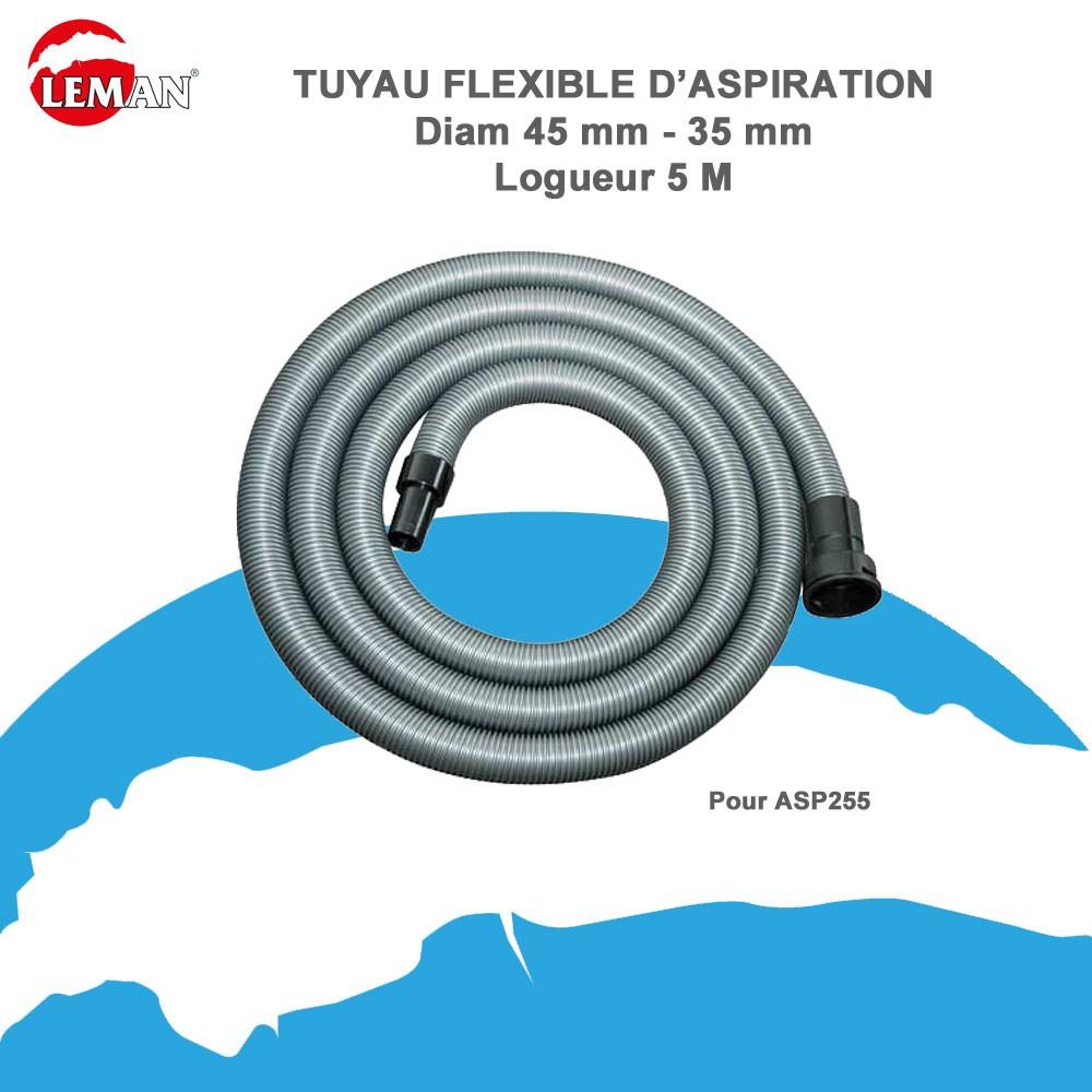 tuyau flexible d aspiration pour asp255 leman abr402. Black Bedroom Furniture Sets. Home Design Ideas