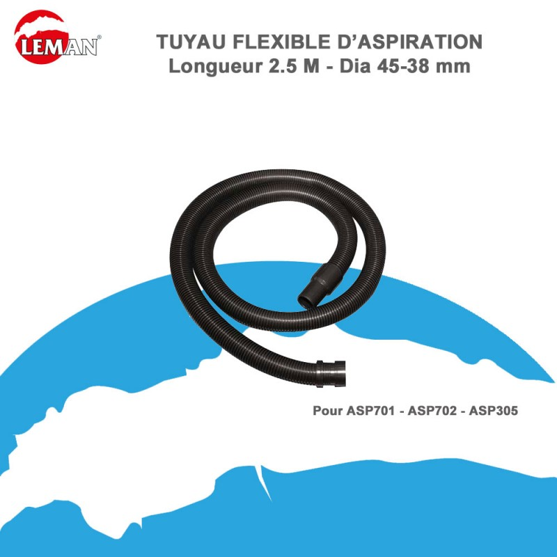 tuyau flexible d 39 aspiration pour asp701 asp702 asp305. Black Bedroom Furniture Sets. Home Design Ideas