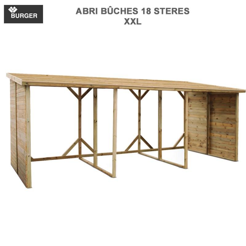 abri b ches xxl en bois 18 st res m3 burger. Black Bedroom Furniture Sets. Home Design Ideas