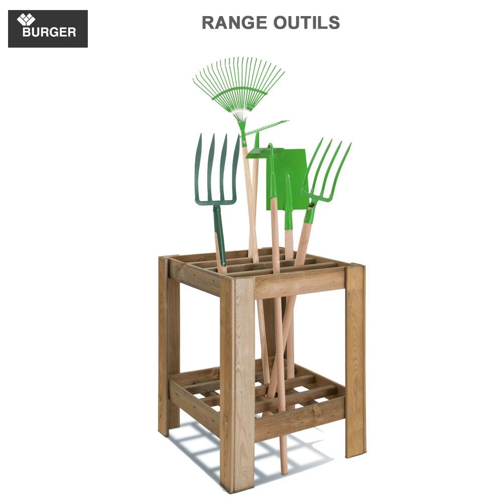 Range Outils De Jardin Ext Rieur Burger Jardipolys 0100515 Burger