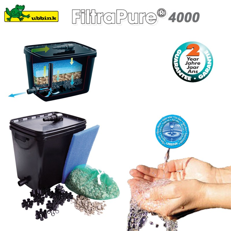 filtre pour bassin ext 233 rieur filtrapure 4000 ubbink 1355967 ubbink