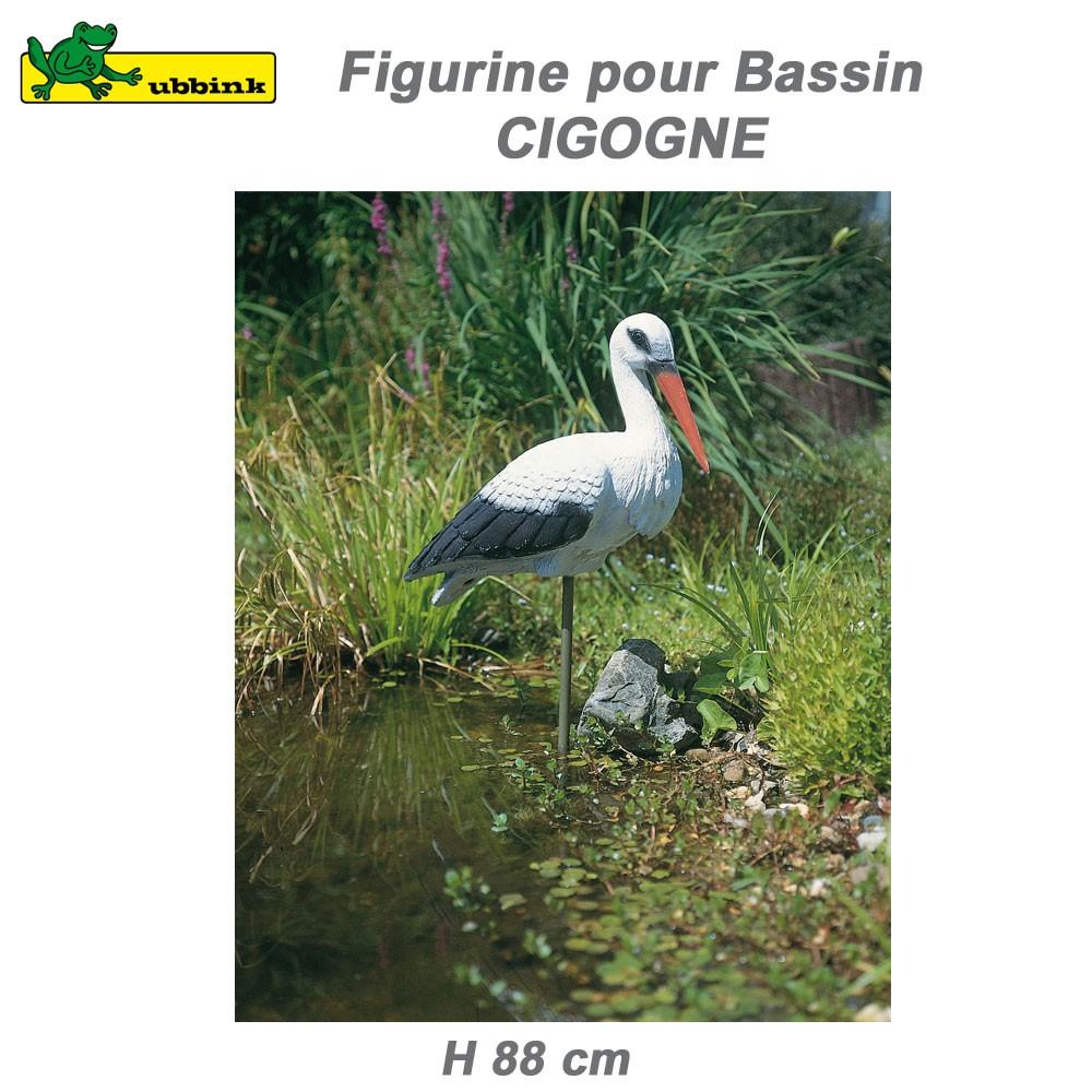 D coration de bassin aquatique cigogne ubbink 1382501 for Vente de bassin aquatique