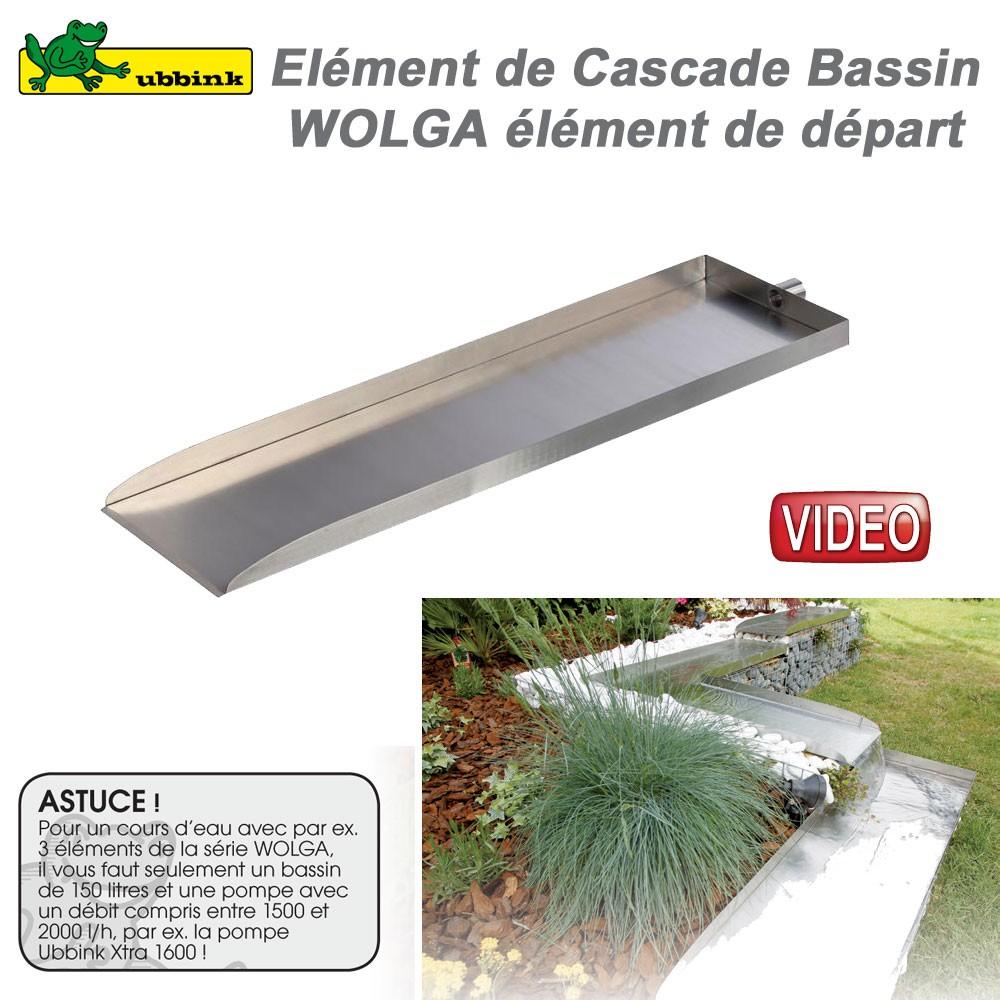 Cascade Cours D 39 Eau De Bassin De Jardin Ext Rieur Wolga