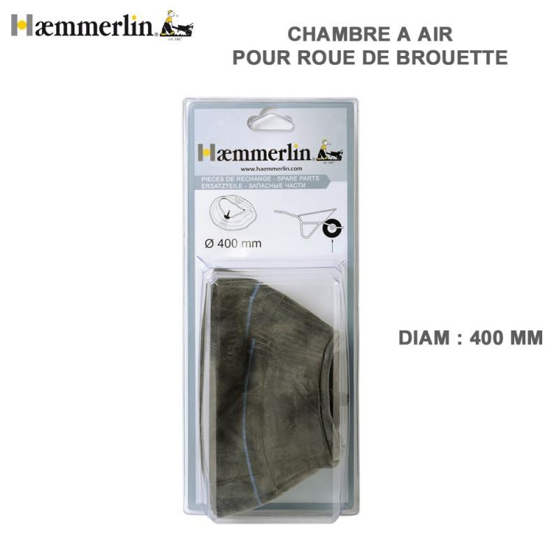 Chambre air diam 400 mm pour brouettte haemmerlin - Chambre a air roue de brouette ...