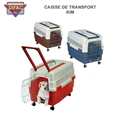 chariot luxe roues gonflables pour cage de transport animaux dc 340. Black Bedroom Furniture Sets. Home Design Ideas