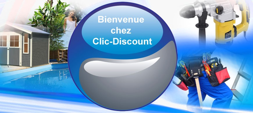 Page d'accueil Clic-Discount