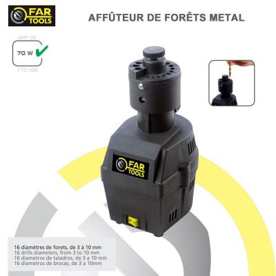 Affuteur de forets à métaux AFF70
