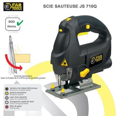 Scie sauteuse pendulaire JS 710Q