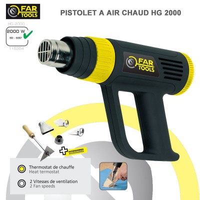 Pistolet à air chaud HG2000