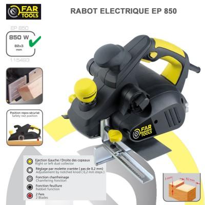 Rabot électrique EP 850
