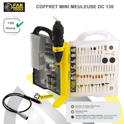 Malette mini meuleuse DC130