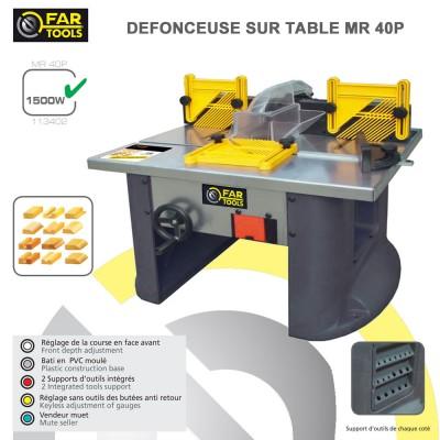Défonceuse sur table MR40 P