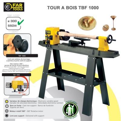 Tour à bois TBF1000