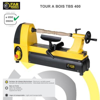 Tour à bois TBS400