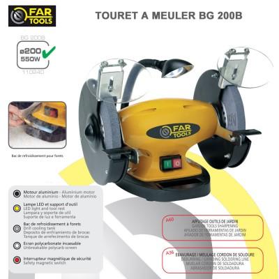 Touret à meuler BG200