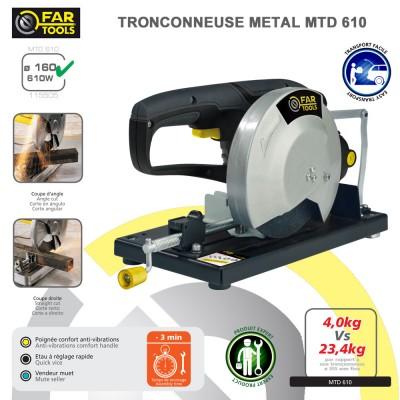 Tronçonneuse à métaux MTD 610