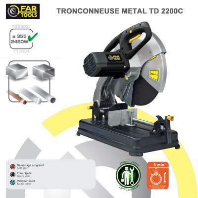 Tronçonneuse à métaux TD 2200 C