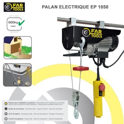 Palan électrique EP 1050 Fartools