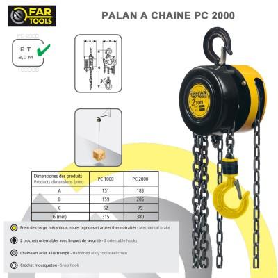 Palan à chaîne PC 2000