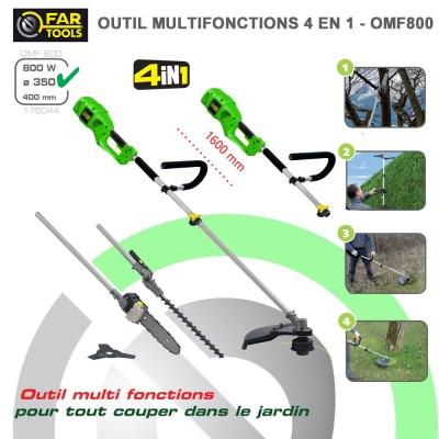 Outil Multifonctions électrique OMF 800