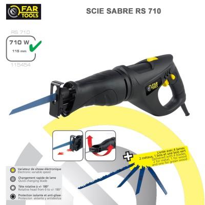 Scie sabre poignees RS 710
