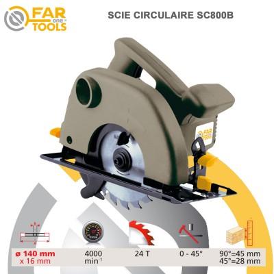 Scie Circulaire SC800B