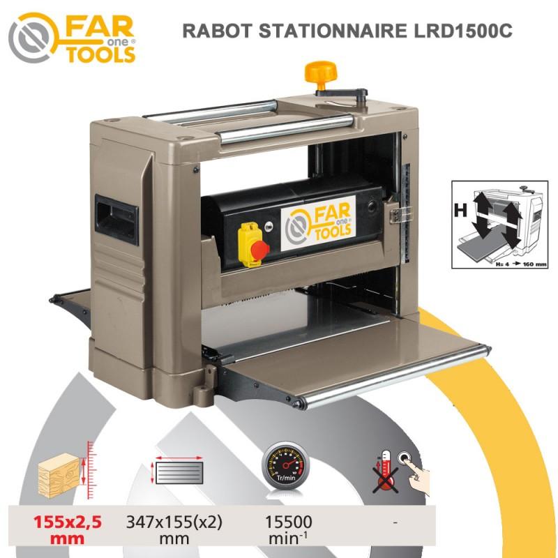 rabot stationnaire lrd1500b 113390 fartools. Black Bedroom Furniture Sets. Home Design Ideas