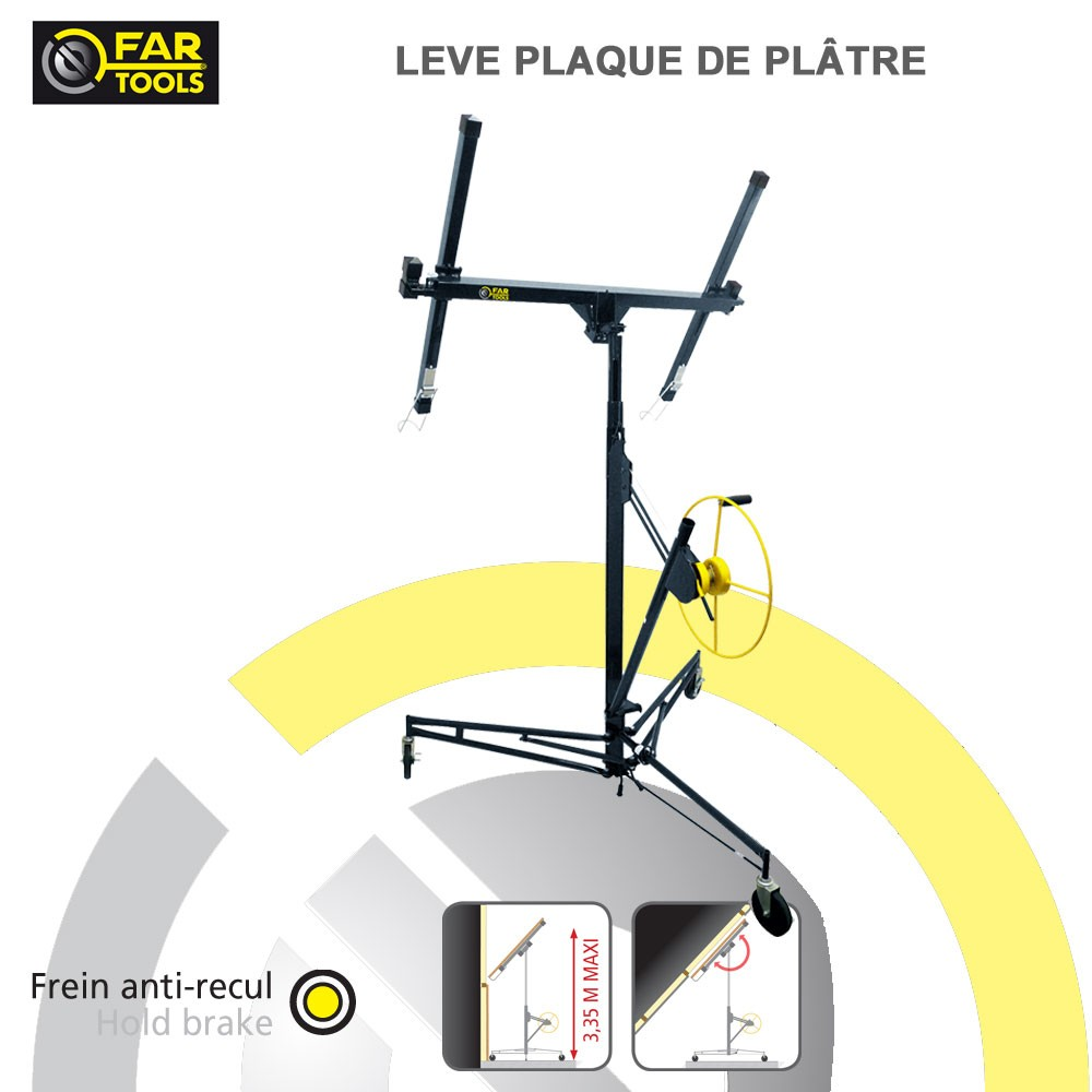 L ve plaque de platre lv3350 212010 fartools - Plaque de platre isolante ...