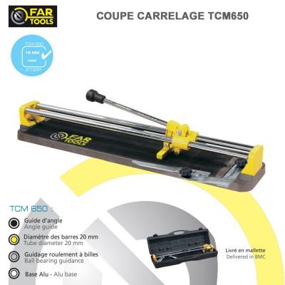 Coupe carrelage manuel TCM650