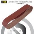 Bandes Abrasives Bois Métal pour Ponceuse YO 400