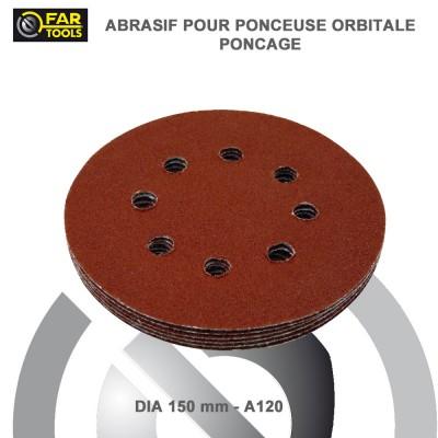 Lot 6 disques abrasifs pour ponceuse BF150