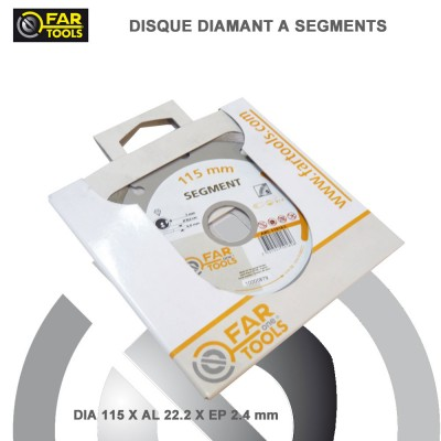 Disque Diamant Turbo 125 x 22.2 mm