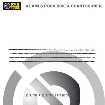 Lame de scie à chantourner 133 mm