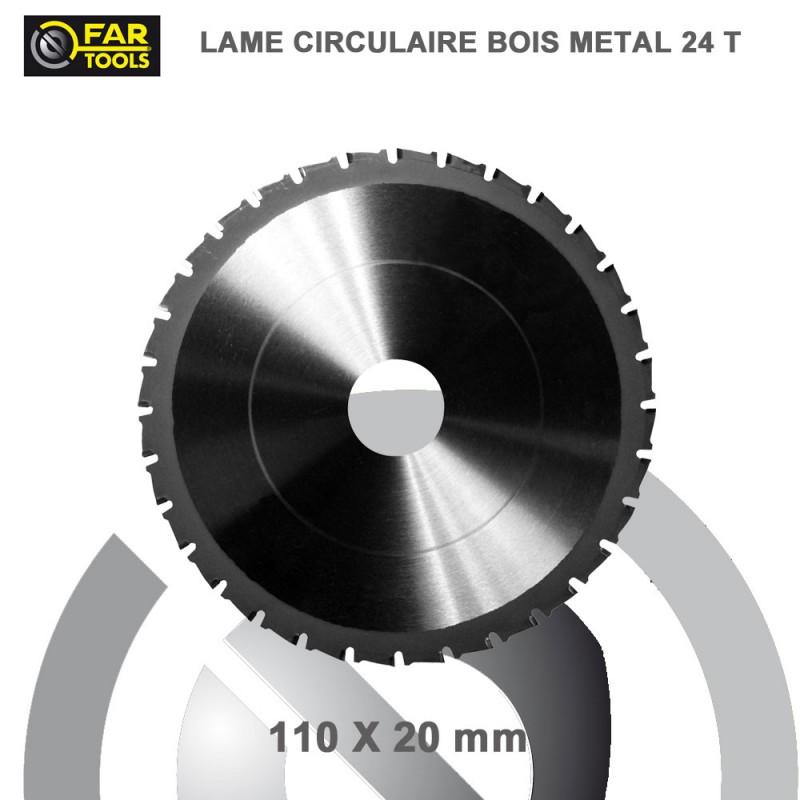 lame circulaire bois m tal diam 110 mm pour scm710 22 50. Black Bedroom Furniture Sets. Home Design Ideas
