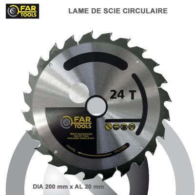 Lames circulaire TCT Diam 200 mm - 24T