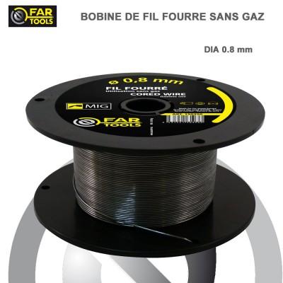 Fil de soudure Fourré 0.8 mm sans gaz