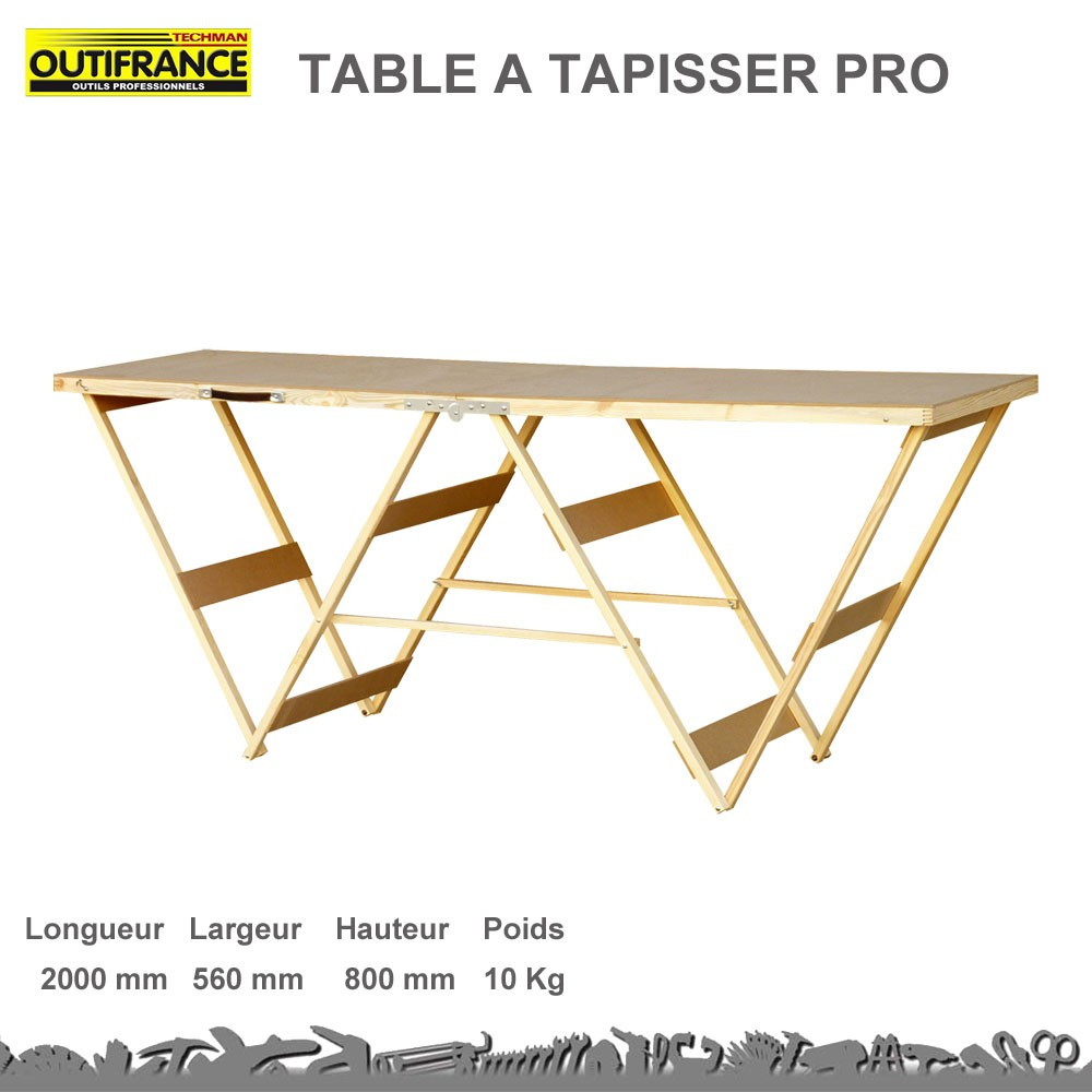 table tapisser professionnelle 8835502 out. Black Bedroom Furniture Sets. Home Design Ideas