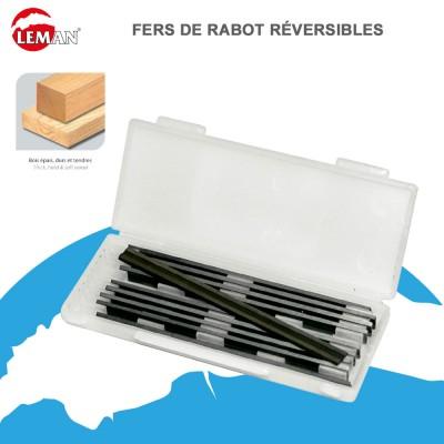 Fers de Rabot Reversibles au Carbure 80 mm - Lor sz 10