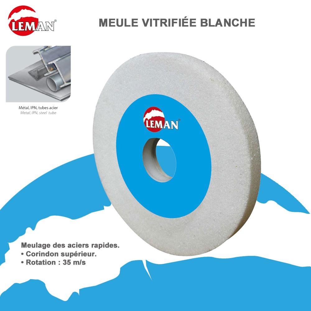 Meule vitrifi es pour touret grain 60 125x20x20 12017 leman - Meule pour touret ...