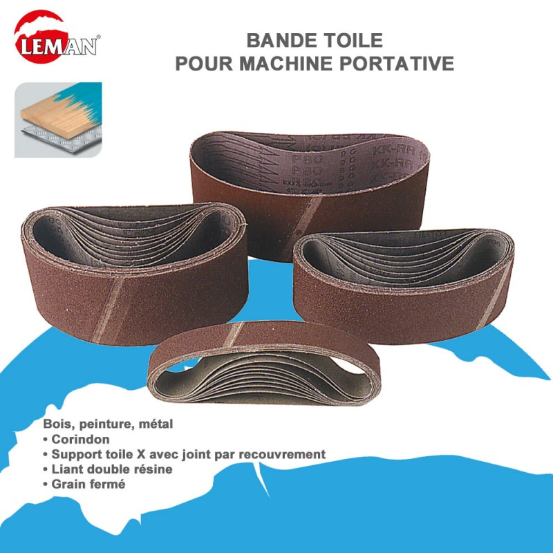 lot 10 bandes abrasives pour ponceuses portatives 10. Black Bedroom Furniture Sets. Home Design Ideas