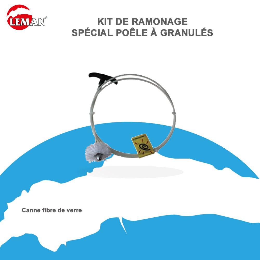 Kit de ramonage sp cial po le granul s kitpeleco leman - Kit de ramonage ...