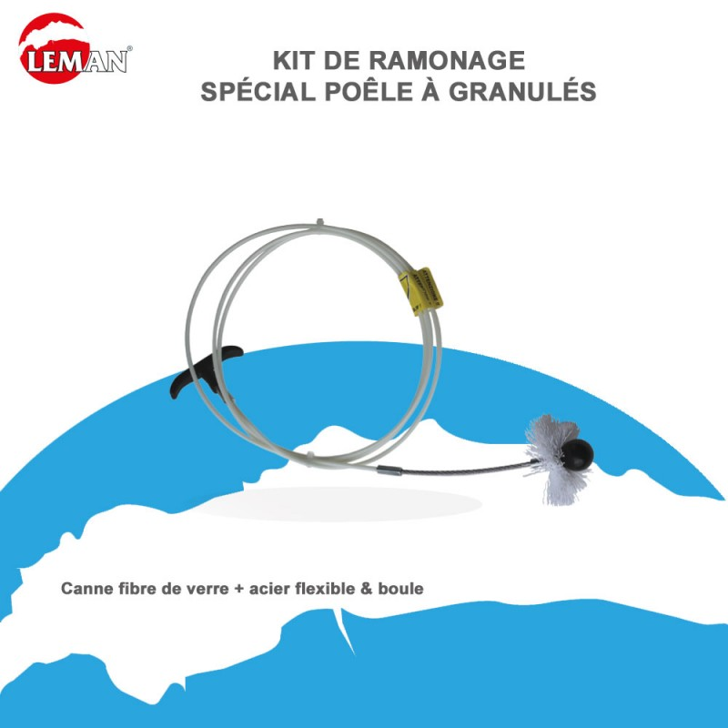 Kit de ramonage sp cial po le granul s kitpelpro leman for Ramonage poele a granule