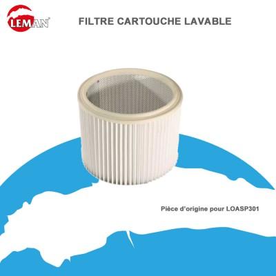 Filtre cartouche lavable pour LOASP301