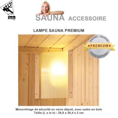 Lampe Premium pour sauna