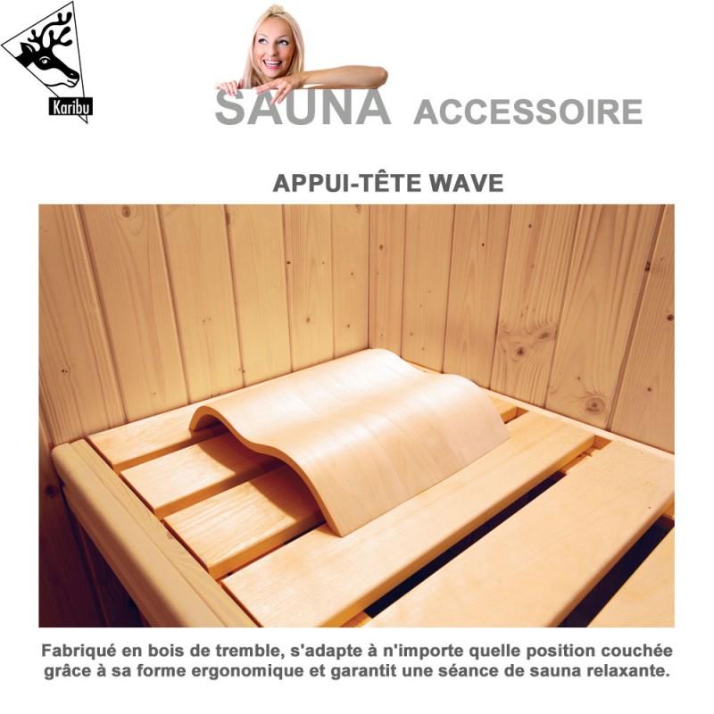 Appui Tete Wave Pour Sauna 63009 Ka 12